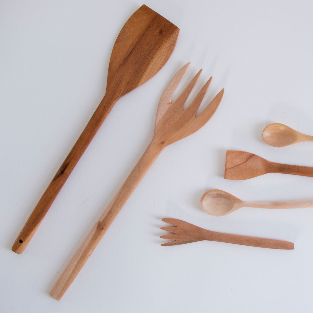 Medium Wooden Fork