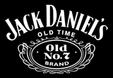 Jack DANIELS logo at the whiskey cave