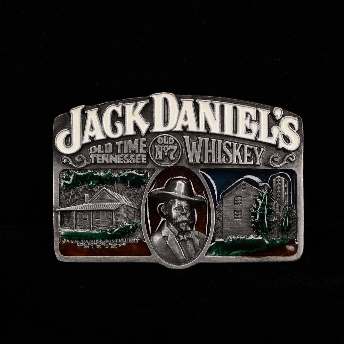 Jack Daniel's 1989 Arroyo Grande Collection Metal Buckle At The Whiskey Cave
