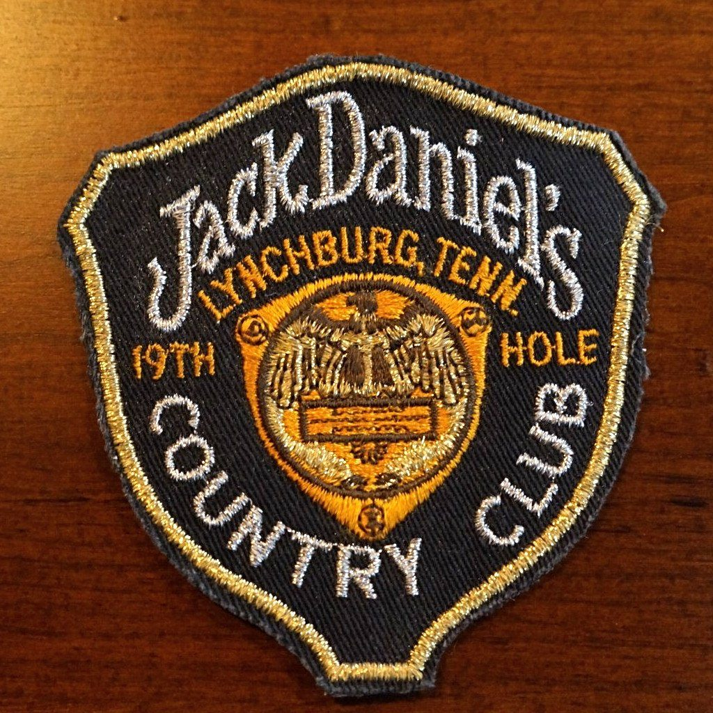 Jack Daniel's 19th Hole Country Club Patch - The Whiskey Cave