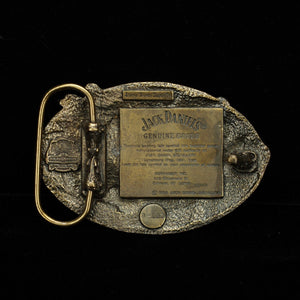 Jack Daniel's 1989 Arroyo Grande Metal Distillery Buckle At The Whiskey Cave
