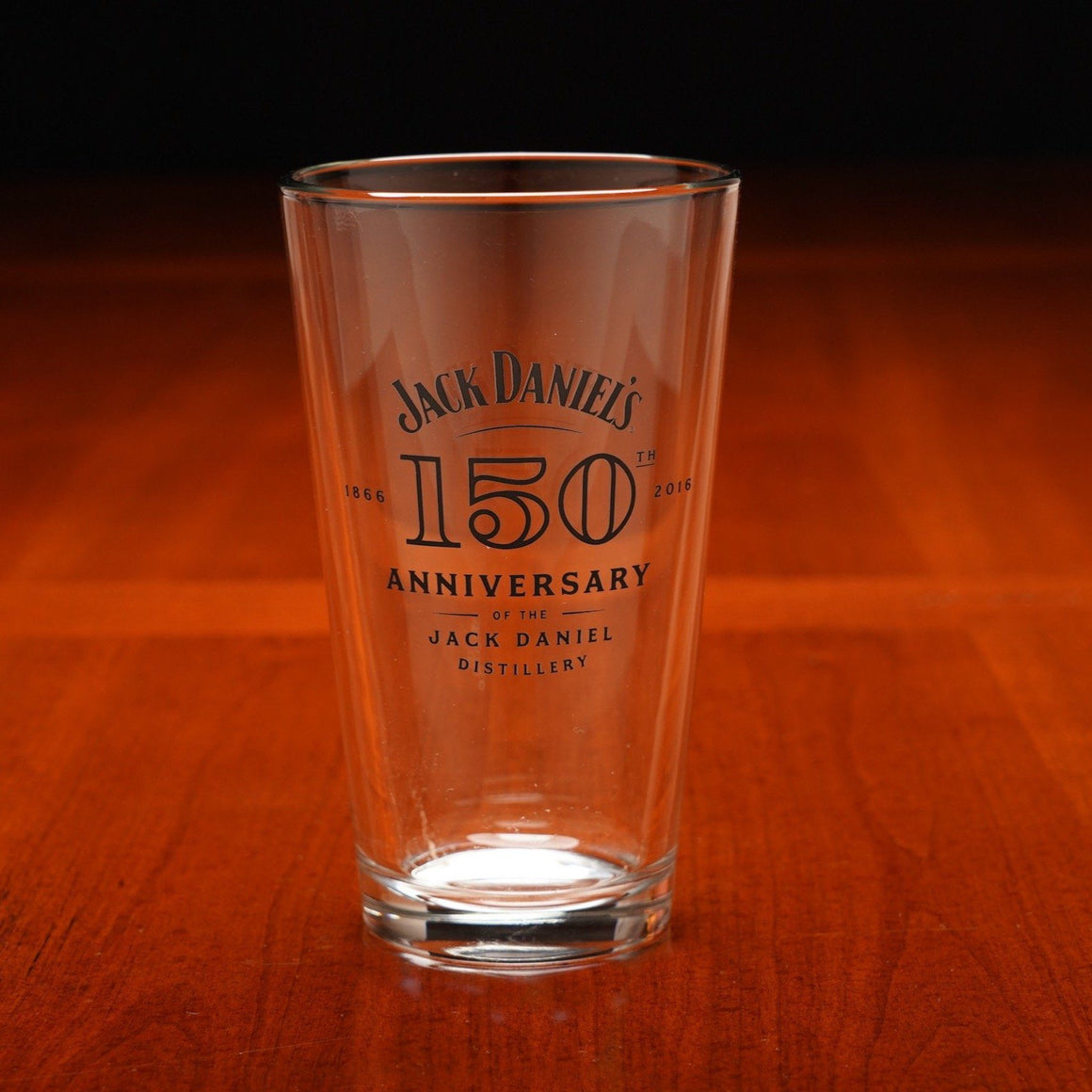 Jack Daniel's 150th Anniversary Pint Glass  at The Whiskey Cave