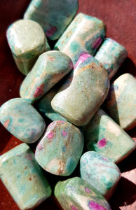 Ruby Fuchsite Tumble
