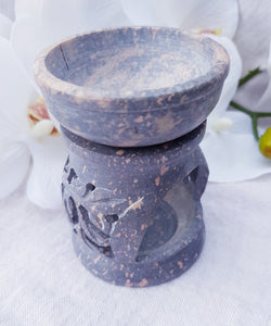 Soapstone Oil Burner Small