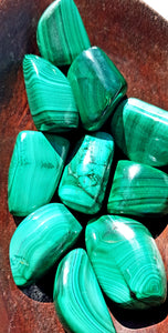 Malachite Tumble Large