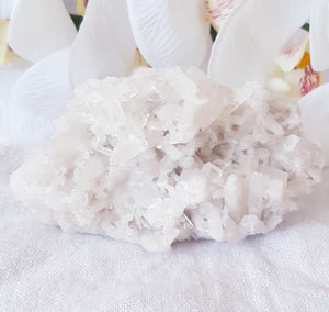 Clear Quartz Laser Crystal Cluster
