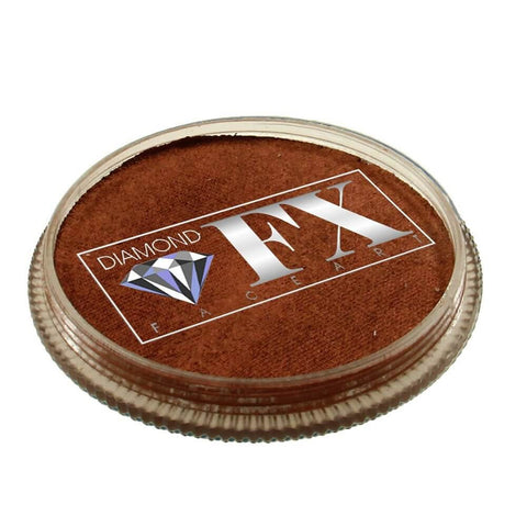Diamond FX vandbaseret sminke Copper Metallic 32 g