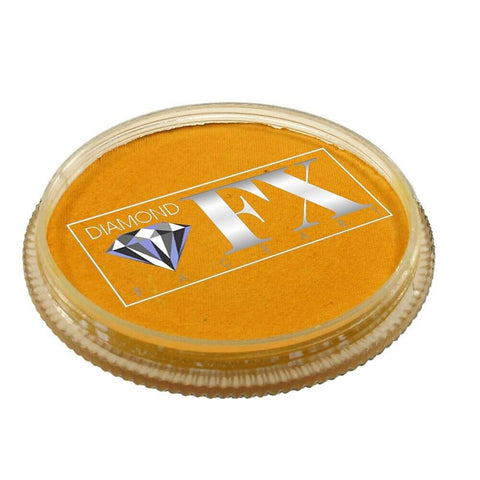 Diamond FX vandbaseret sminke Golden Yellow 32 g