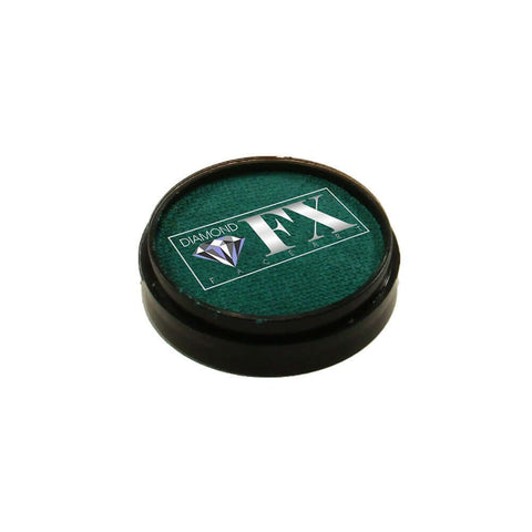 Diamond FX vandbaseret sminke Green Metallic 10 g