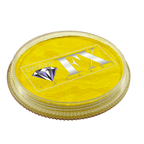 Diamond FX vandbaseret sminke Lemon Yellow 30 g
