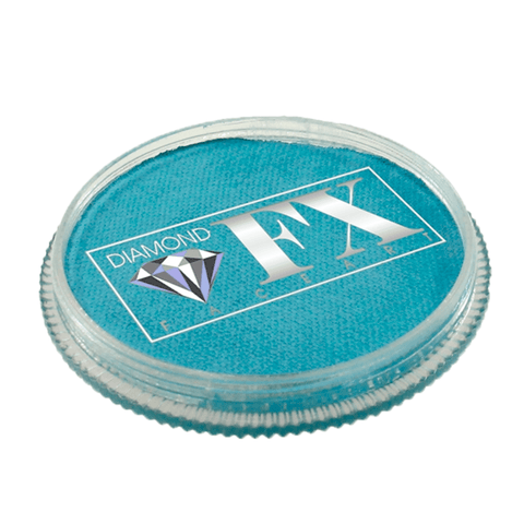 Diamond FX vandbaseret sminke Light Azure 30 g