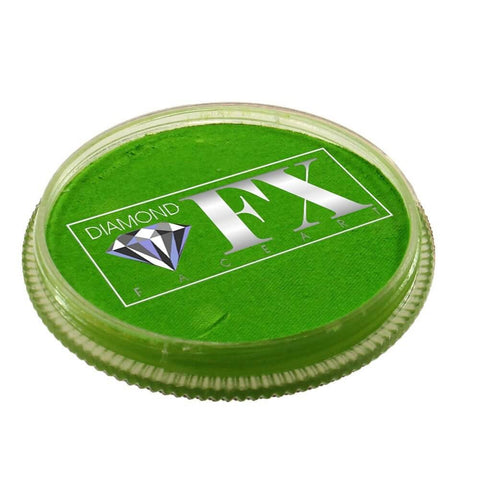 Diamond FX vandbaseret sminke Light Green lysegrøn 30 g