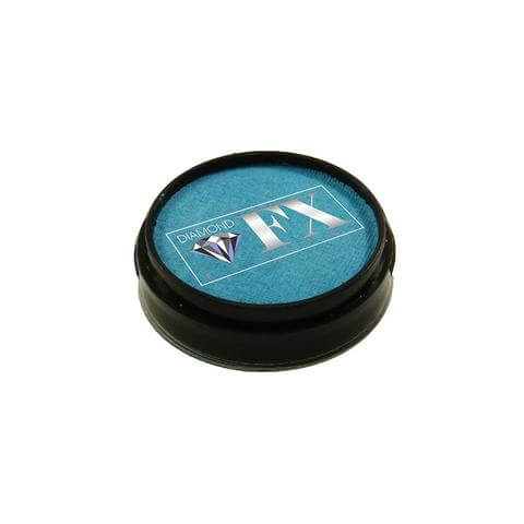 Diamond FX vandbaseret sminke Light Blue 10 g