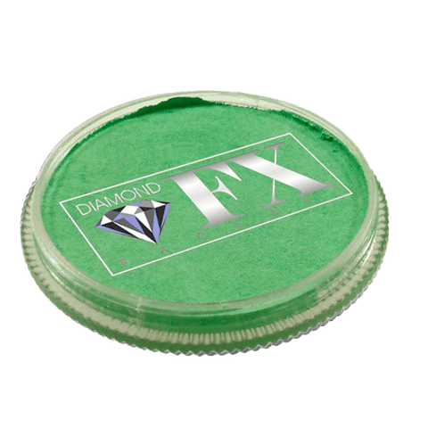 Diamond FX vandbaseret sminke Mint Green Metallic 30 g