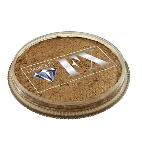 Diamond FX vandbaseret sminke Old Gold Metallic 32 g
