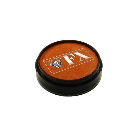 Diamond FX vandbaseret sminke Orange Metallic 10 g