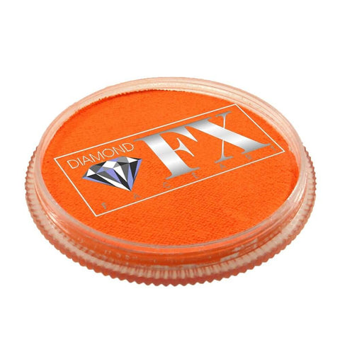 Diamond FX vandbaseret sminke Orange Neon 30 g