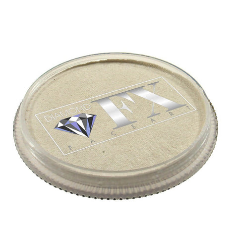 Diamond FX vandbaseret sminke White Metallic 30 g