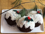 Plum Pudding Kit for 3 Ornaments and/or Bowl Filler Pillows