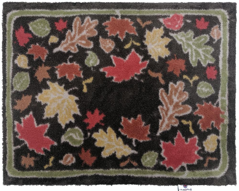"Colours of Canada Rug - Oxford Punch Needle Pattern 22"" x 33"""