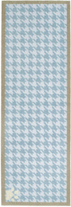 Dog Tooth Blue Runner