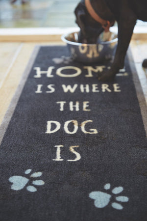 Home Is Where The Dog Is - Black Runner