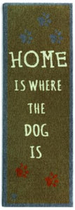 Home Is Where The Dog Is - Brown Runner