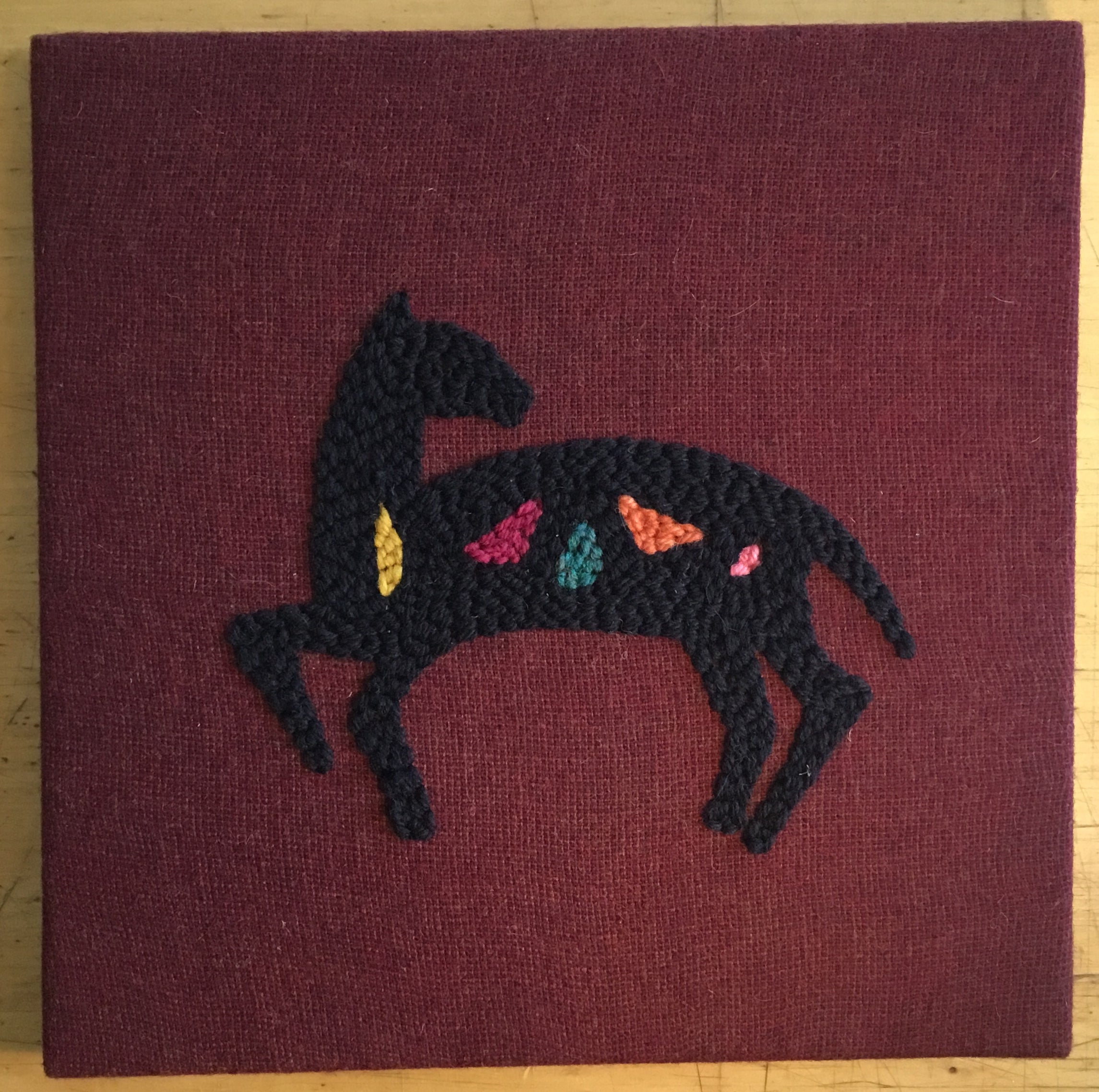 Pictograph Horse Wall Hanging Kit