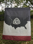 "Continental Divide Trail Blanket 60"" x 50"""