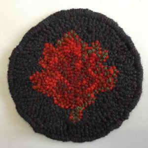 Maple Leaf Mug Rug - Oxford Punch Needle Kit