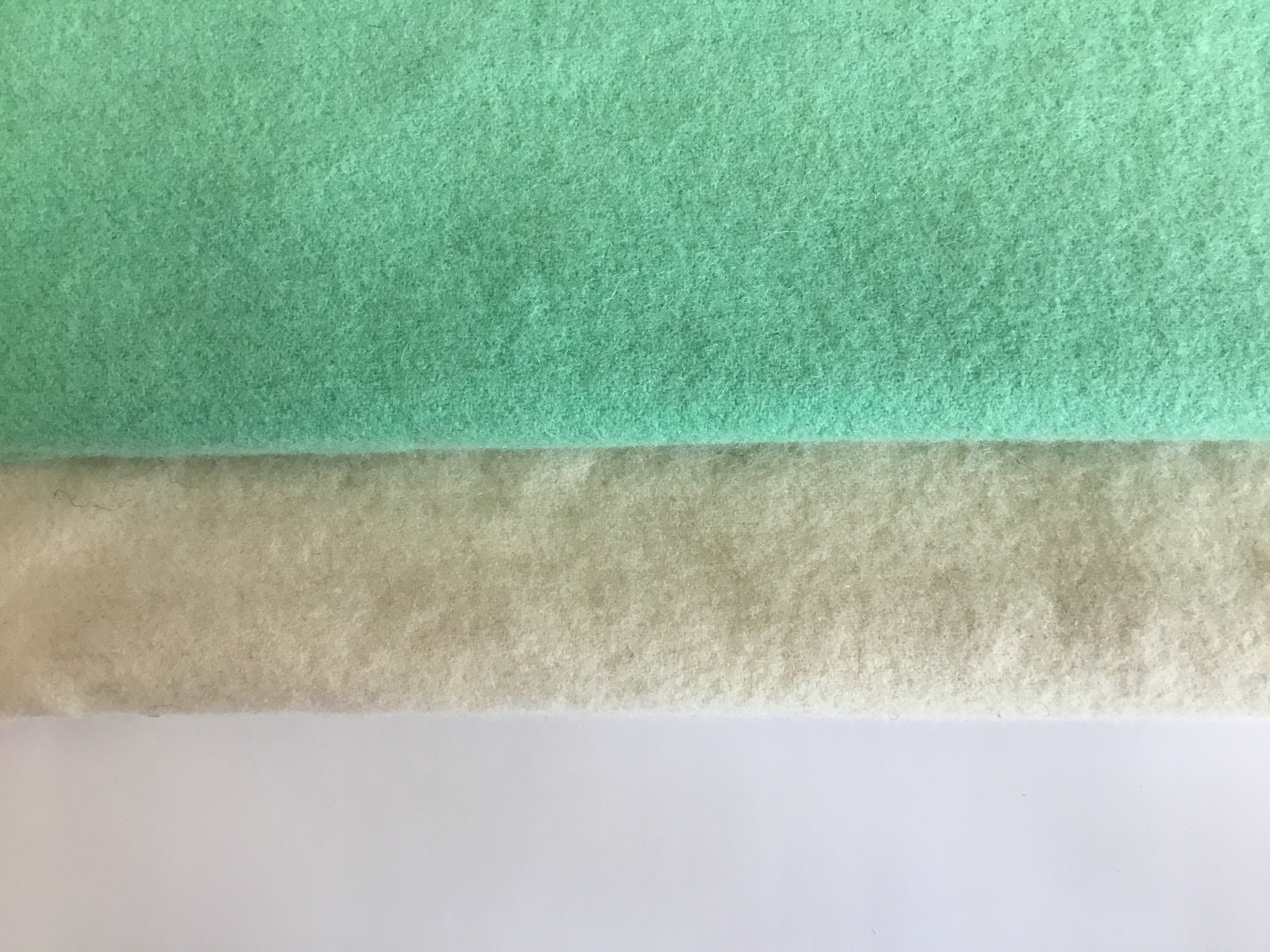 Wool Fabric  - Natural White