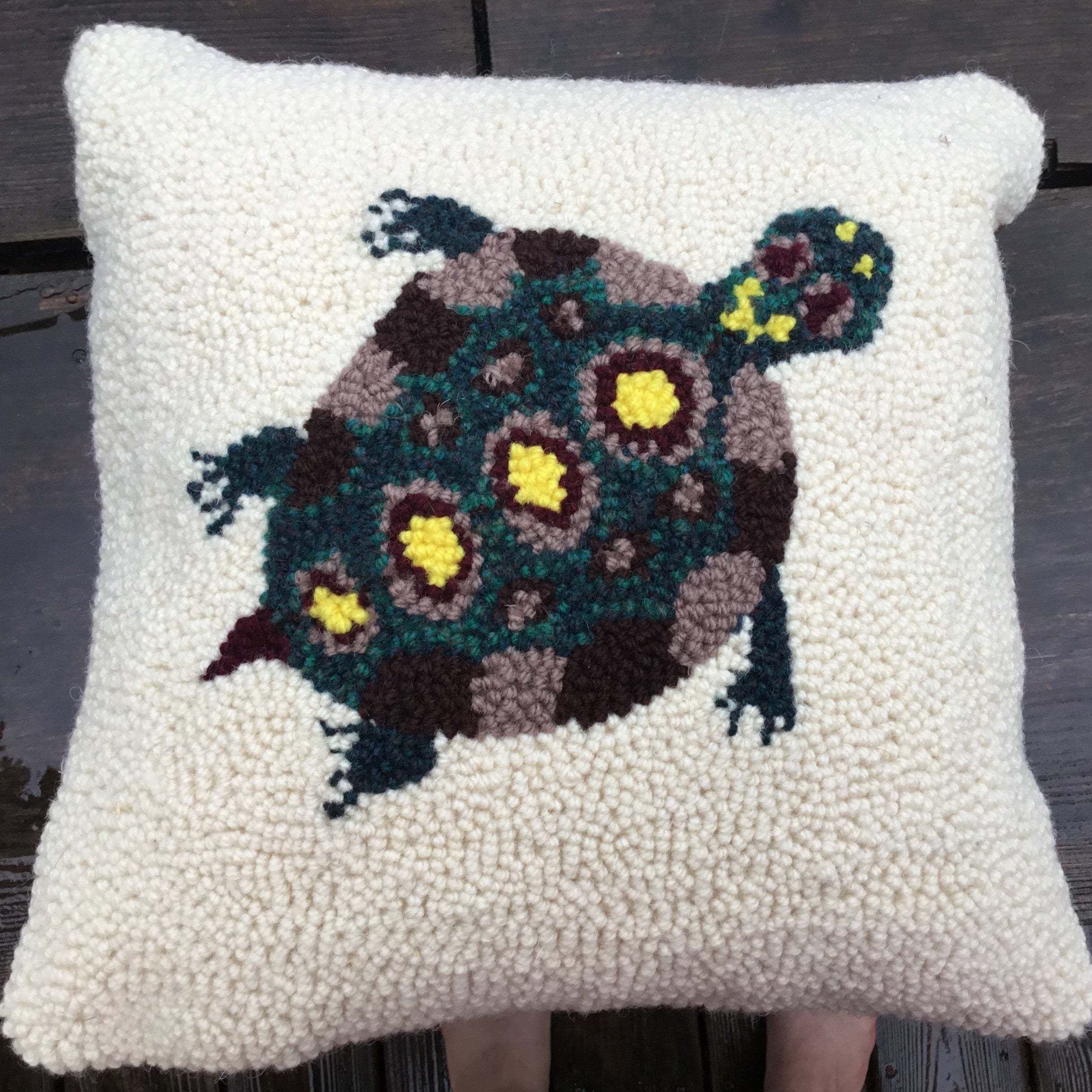 Turtle  Pillow Kit - Oxford Punch