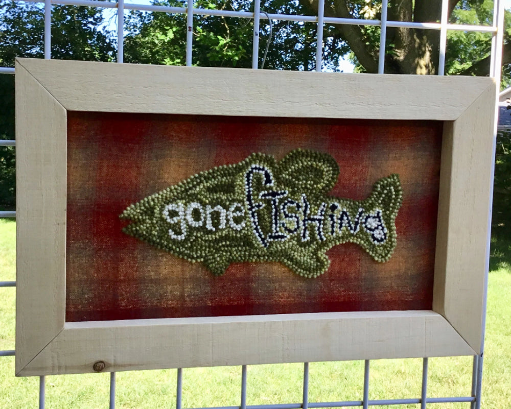Gone Fishing - Wall Hanging