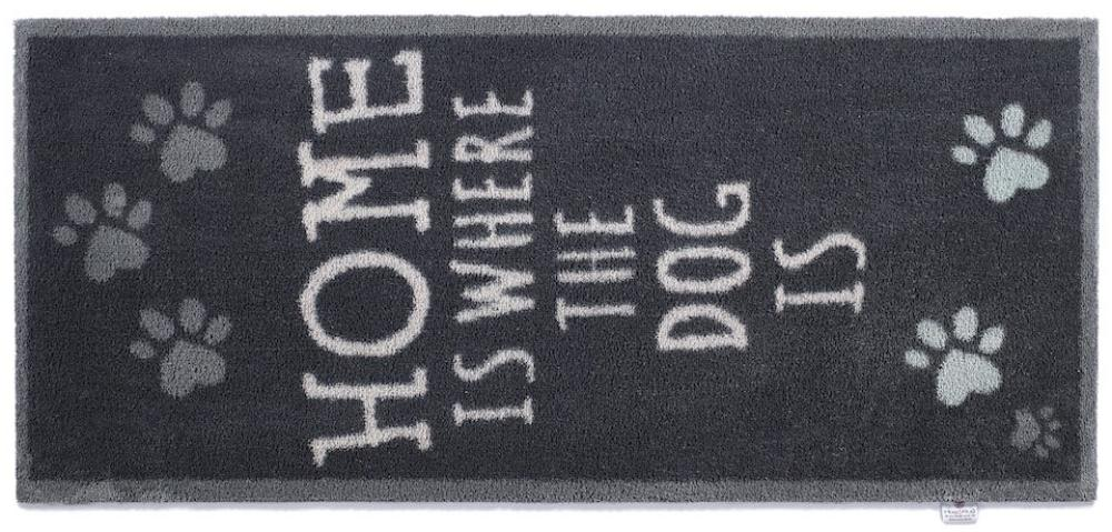 Home Is Where The Dog Is Black Runner