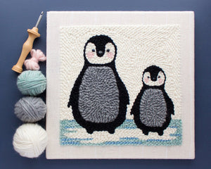 Punch Needle Penguin Kit