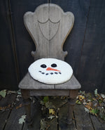 Snowman Chair Pad - Oxford Punch Kit