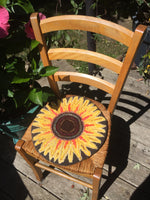 Sunflower Chair Pad - Oxford Punch Kit