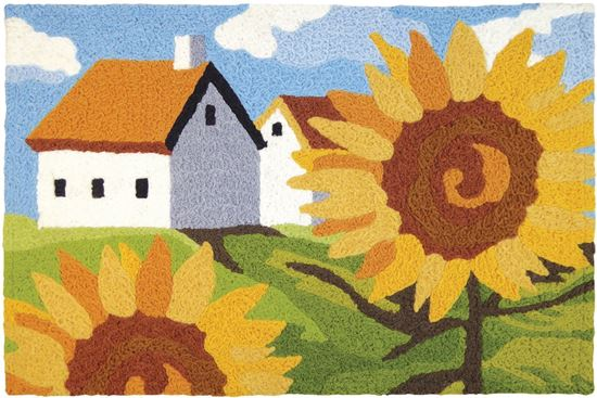 Sunflowers on the Farm