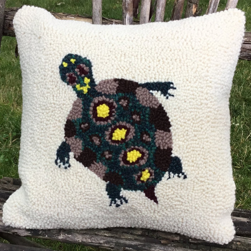 Punch Needle Pattern - Turtle
