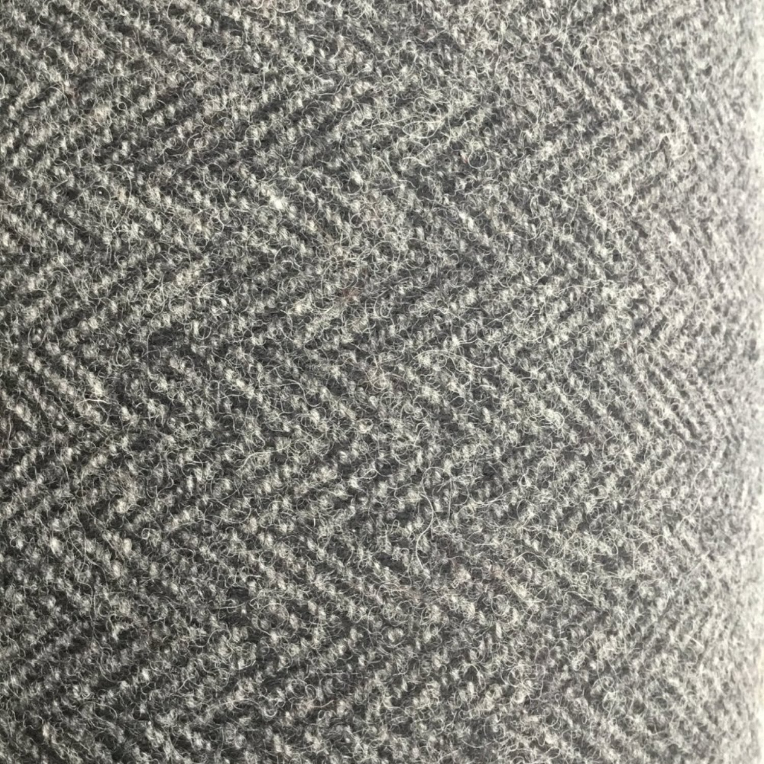 Wool Fabric Tweed 72295 - Grey