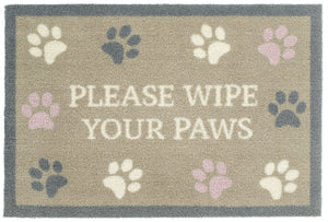 "Wipe Your Paws - 20"" x 30"""