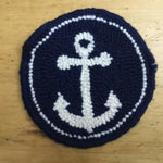 Anchor Mug Rug - Oxford Punch Needle Kit
