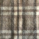 Wool Fabric - Dornan Grey Plaid