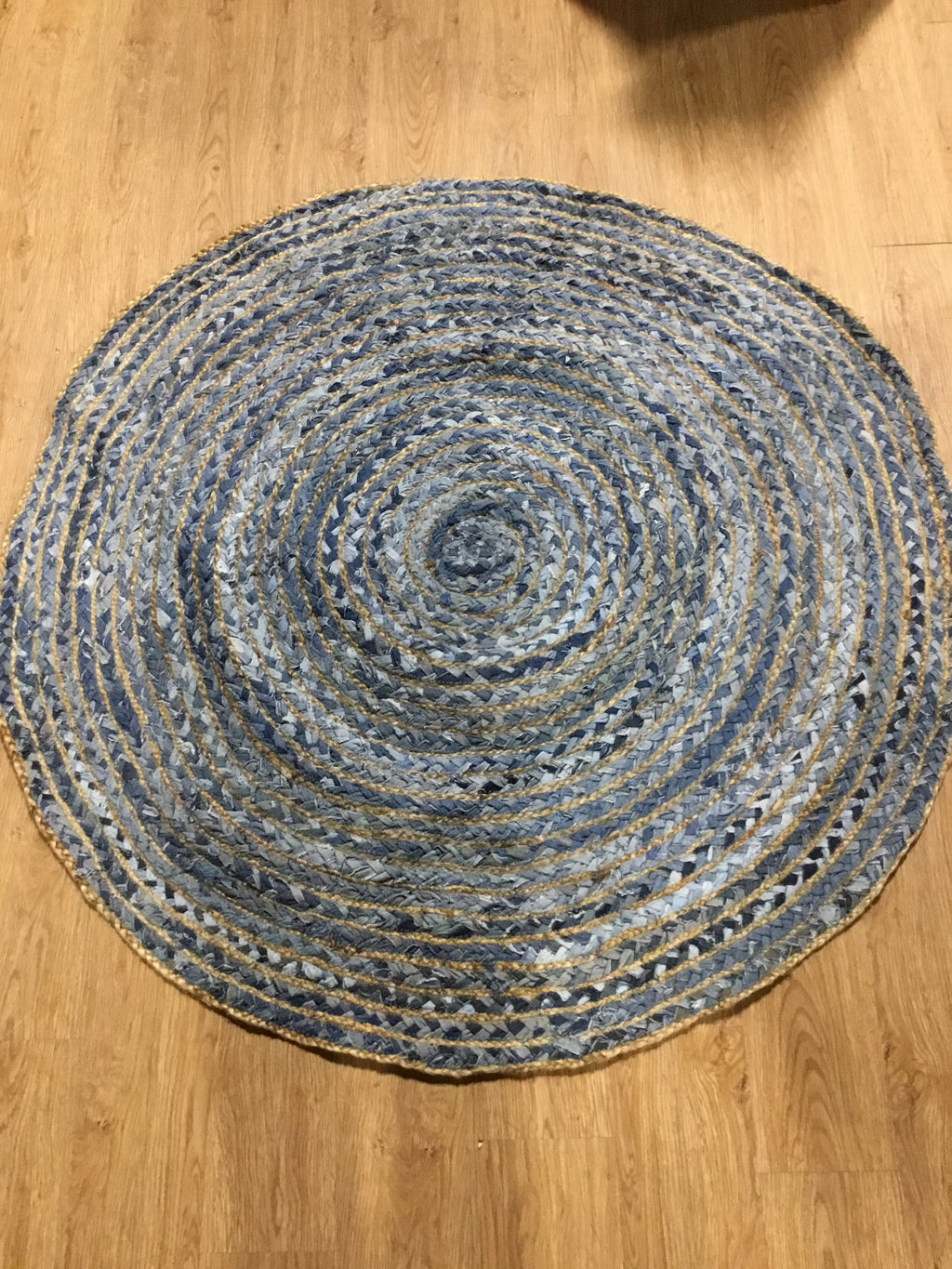 Rag Rug 54 Blue Green