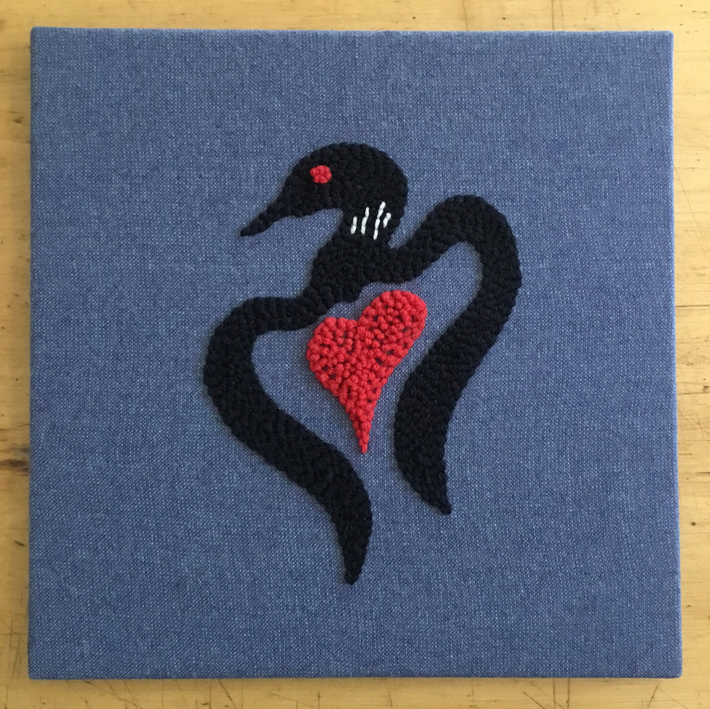 Loon Wall Hanging Kit