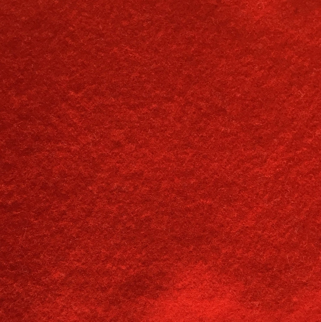 Wool Fabric  - Cardinal Red