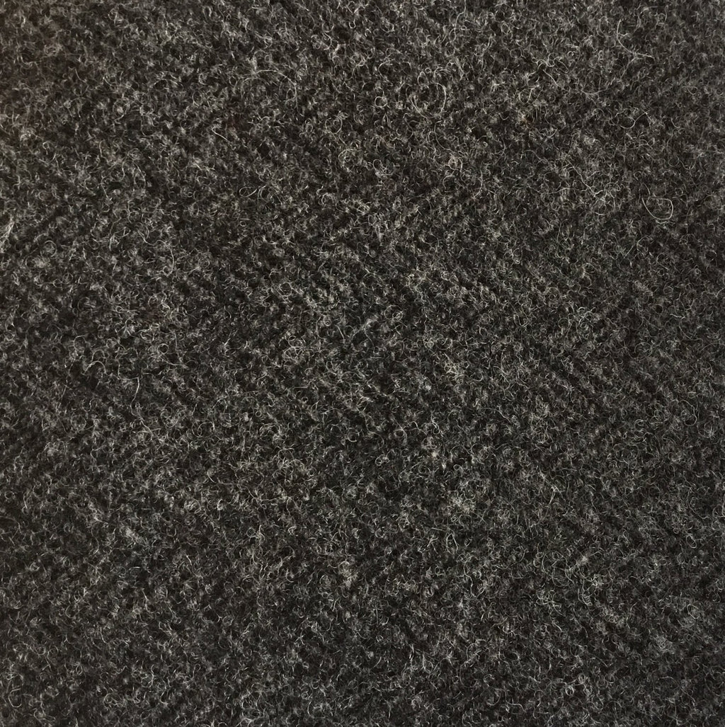 Wool Fabric - Charcoal Tweed