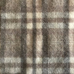 Wool Fabric Worms - Dornan Grey Plaid