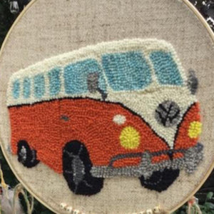 VW Wall Hanging - Oxford Punch Needle Kit 12""