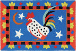Rooster and Stars